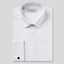 Load image into Gallery viewer, Rael Brook Classic Fit White Full Front Pleat Dress Shirt