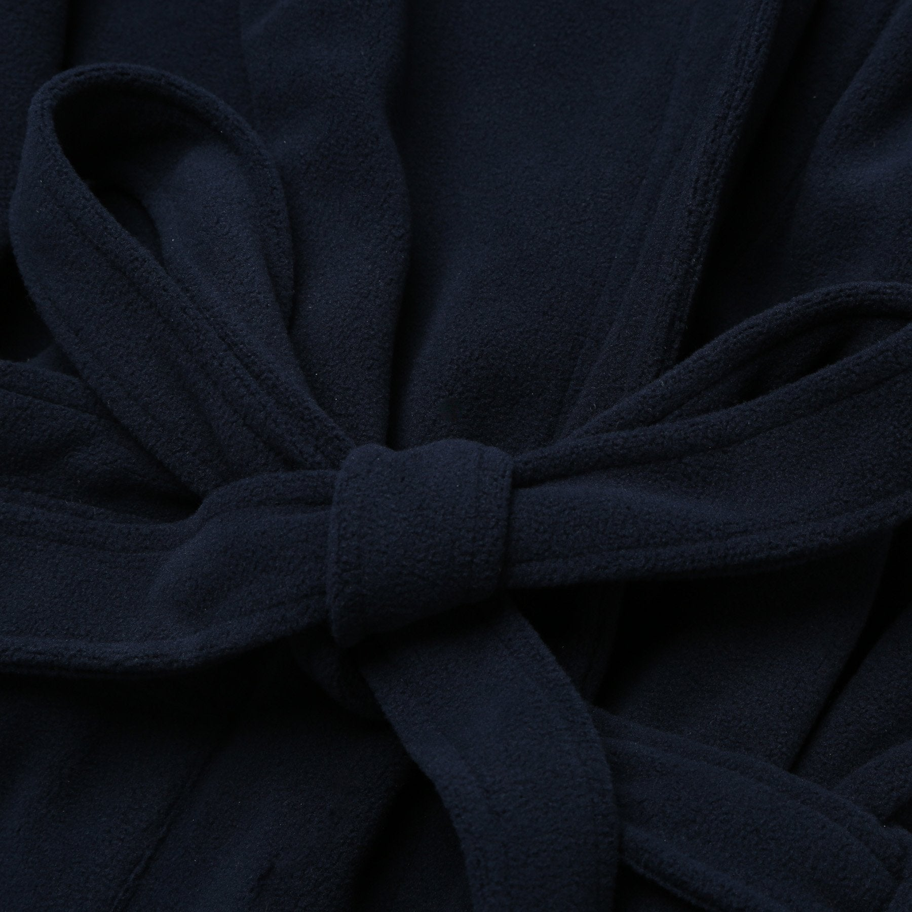 Rael Brook Navy Brushed Dressing Gown Fabric