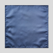 Load image into Gallery viewer, HA0030-03-Folkespeare-French-Navy-Satin-Pocket-Square-1