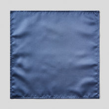 Load image into Gallery viewer, Folkespeare French Navy Satin Pocket Square