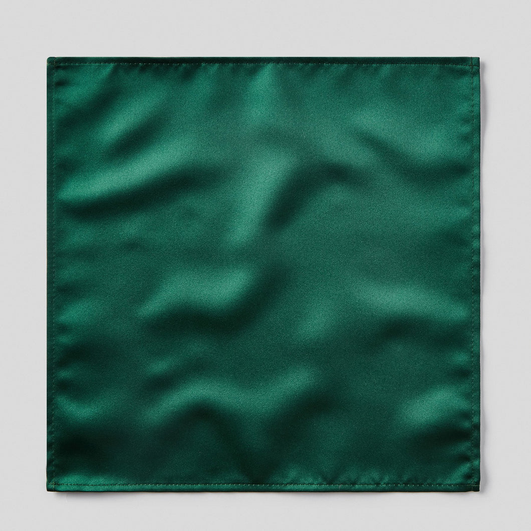 HA0030-09-Folkespeare-Bottle-Green-Satin-Pocket-Square-1