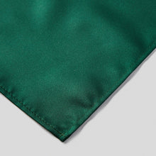 Load image into Gallery viewer, HA0030-09-Folkespeare-Bottle-Green-Satin-Pocket-Square-3