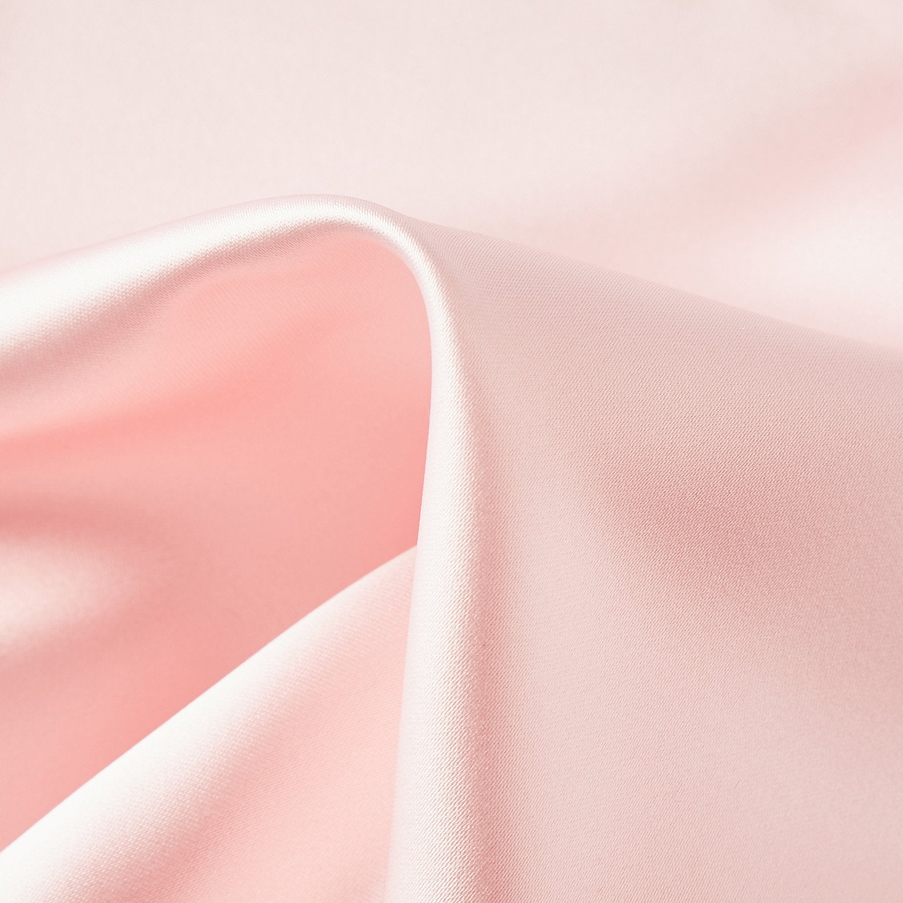 Folkespeare Pink Satin Pocket Square Fabric