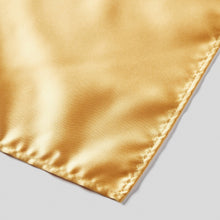 Load image into Gallery viewer, HA0030-29-Folkespeare-Gold-Satin-Pocket-Square-3