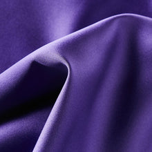 Load image into Gallery viewer, Folkespeare Purple Satin Pocket Square Fabric