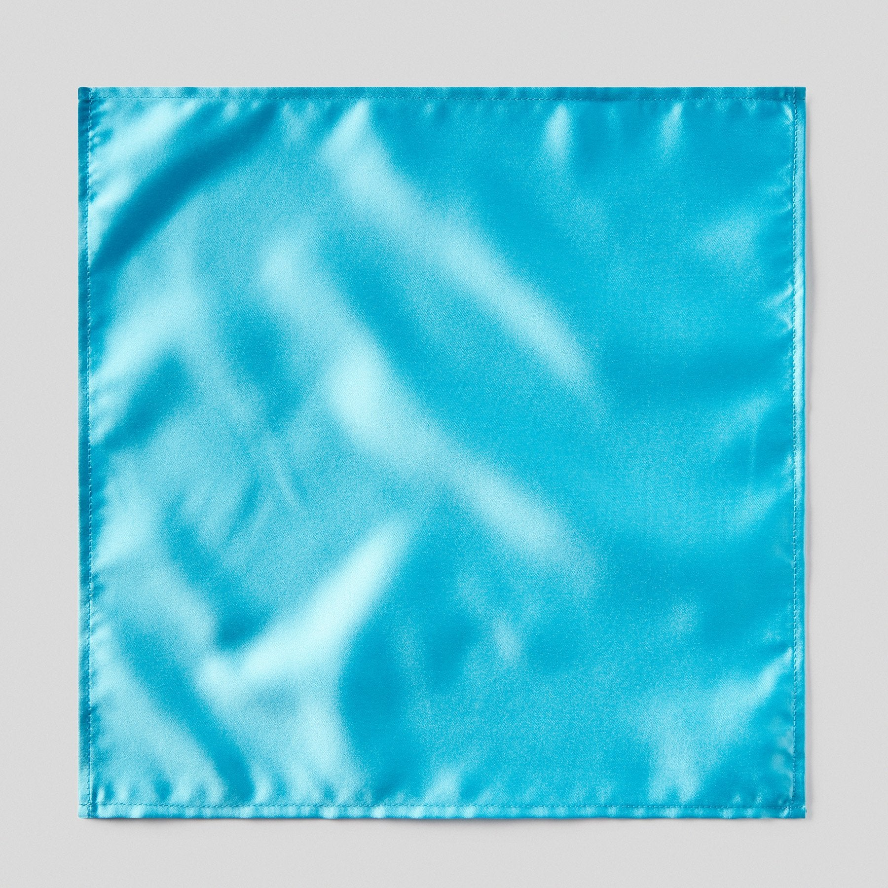 HA0030-55-Folkespeare-Turquoise-Satin-Pocket-Square-1