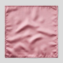 Load image into Gallery viewer, Folkespeare Dusky Pink Satin Pocket Square