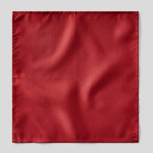 Load image into Gallery viewer, HA4440-02-Folkespeare-Red-Slub-Pocket-Square-1