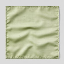 Load image into Gallery viewer, Folkespeare Sage Slub Pocket Square