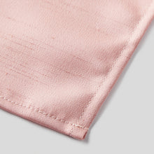 Load image into Gallery viewer, HA4440-10-Folkespeare-Blush-Slub-Pocket-Square-3