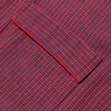 Load image into Gallery viewer, Rael Brook Standard Fit Mini Red Check Brushed Cotton Pyjama Set Cuff Detail