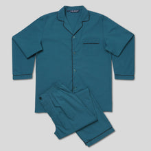 Load image into Gallery viewer, Rael Brook Standard Fit Teal Pyjama Set