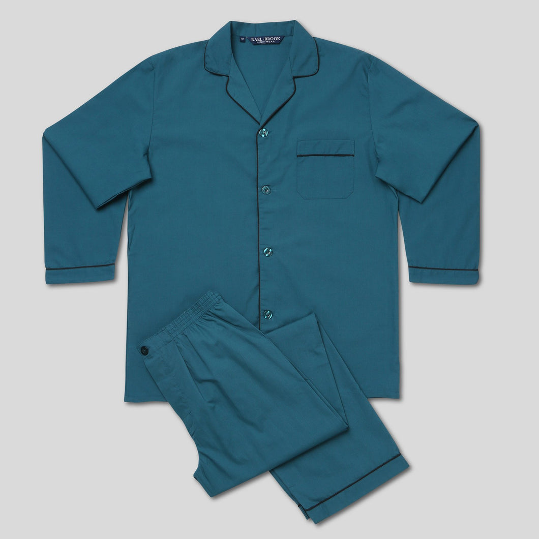 Rael Brook Standard Fit Teal Pyjama Set