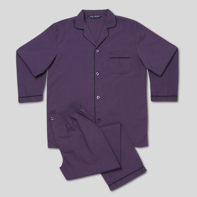 Rael Brook Standard Fit Grape Pyjama Set