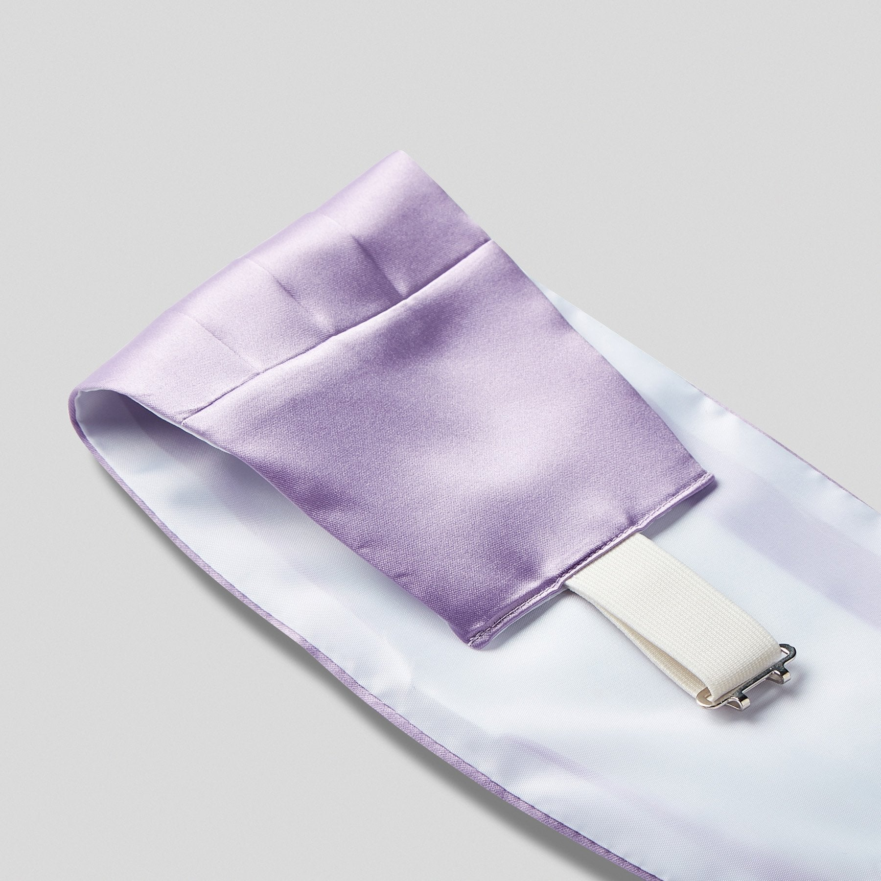 SE0030-19-Folkespeare-Lilac-Satin-Cummerbund-And-Bow-Tie-Set-2