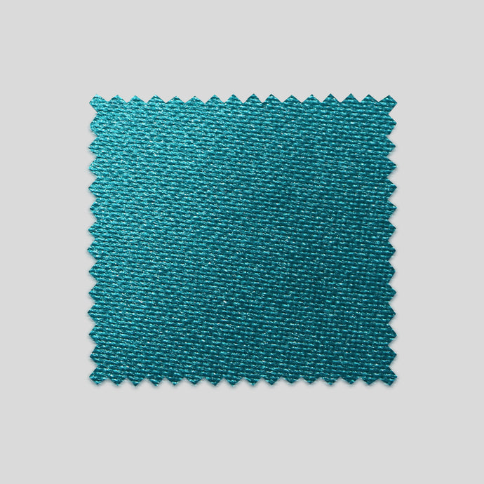 Folkespeare Teal Satin Swatch