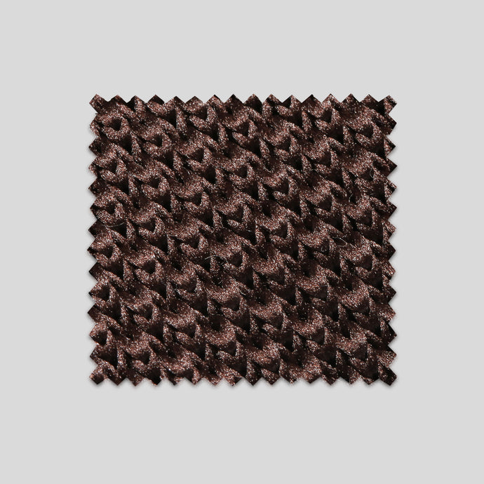 Folkespeare Brown Knitted Swatch
