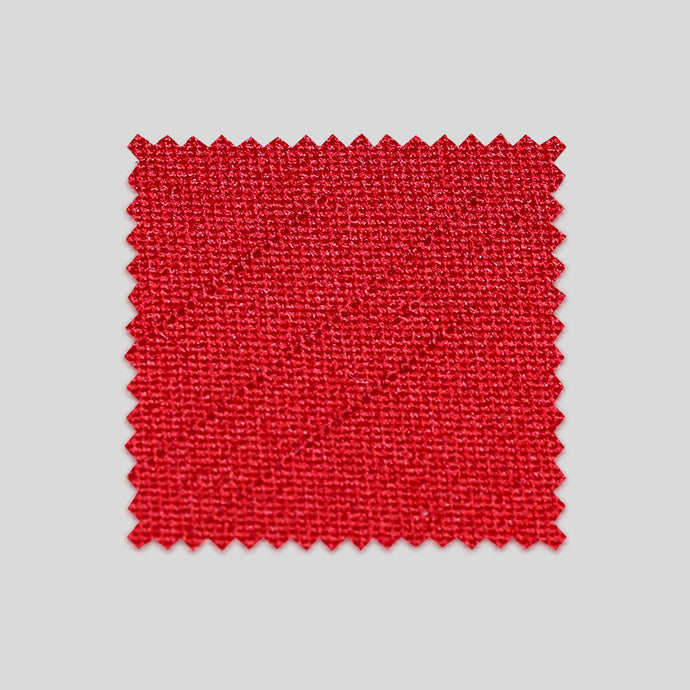 Folkespeare Red Slub Swatch