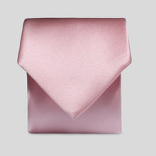 Load image into Gallery viewer, Folkespeare Boys Pink Satin Classic Tie