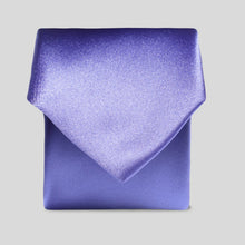 Load image into Gallery viewer, TB0030-54-Folkespeare-Boys-Violet-Satin-Classic-Tie-1