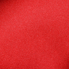 Load image into Gallery viewer, Folkespeare Scarlet Red Satin Clip On Tie Fabric