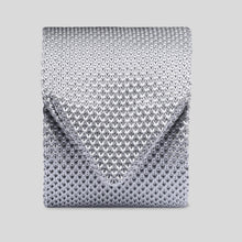 Load image into Gallery viewer, TK1000-02-Folkespeare-Grey-Knitted-Slim-Tie-1