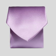 Load image into Gallery viewer, TM0030-37-Folkespeare-Lavender-Satin-Classic-Tie-1