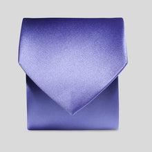 Load image into Gallery viewer, Folkespeare Violet Satin Classic Tie