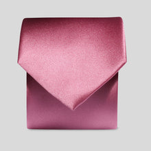 Load image into Gallery viewer, Folkespeare Dusky Pink Satin Classic Tie