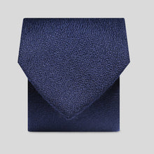 Load image into Gallery viewer, Folkespeare Navy Wool Classic Tie