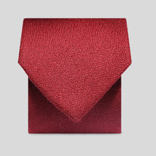 Load image into Gallery viewer, Folkespeare Maroon Wool Classic Tie