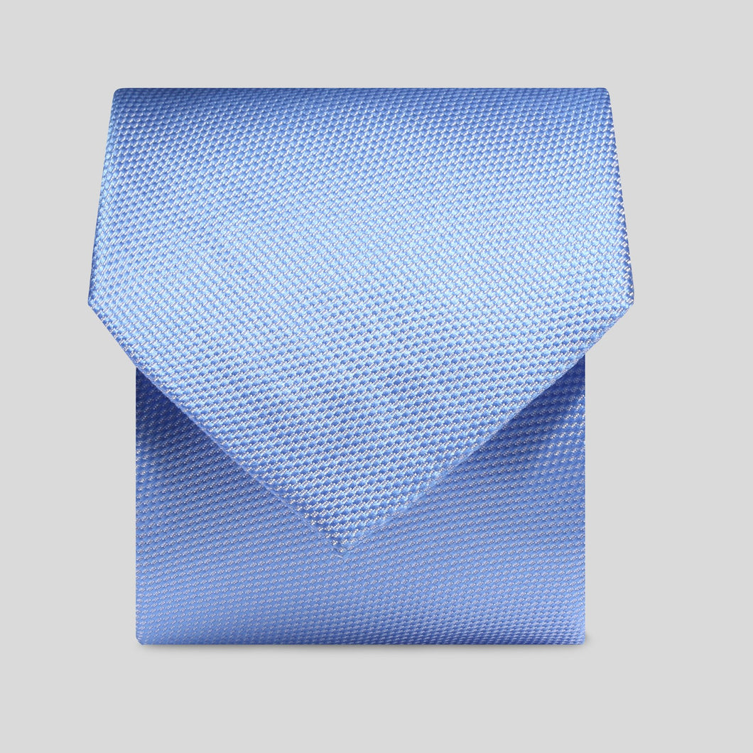Folkespeare Light Blue Textured Classic Tie