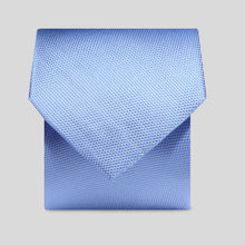 Load image into Gallery viewer, Folkespeare Light Blue Textured Classic Tie