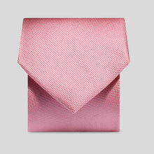 Load image into Gallery viewer, Folkespeare Pink Textured Classic Tie