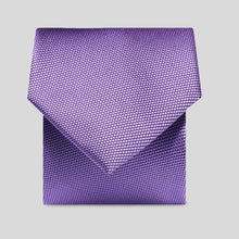 Load image into Gallery viewer, Folkespeare Violet Textured Classic Tie
