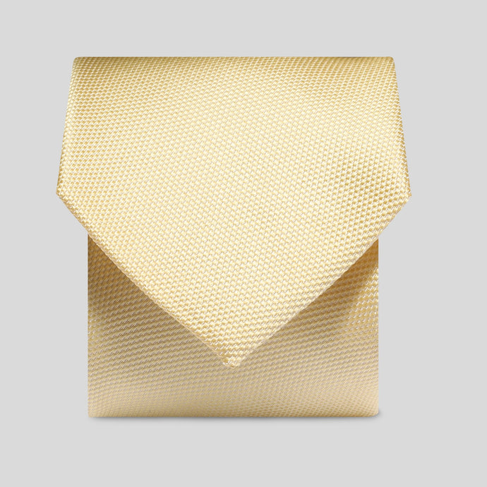 Folkespeare Lemon Textured Classic Tie