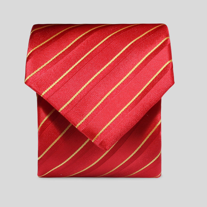 TM2787-02-Folkespeare-Red-And-Yellow-Thin-Stripe-Classic-Tie-1