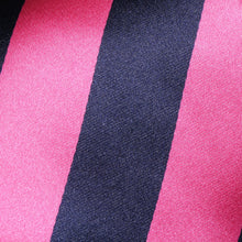 Load image into Gallery viewer, TM2800-01-Folkespeare-Bright-Pink-And-Navy-Boating-Classic-Tie-2