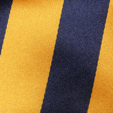 Load image into Gallery viewer, TM2800-02-Folkespeare-Bright-Yellow-And-Navy-Boating-Classic-Tie-2