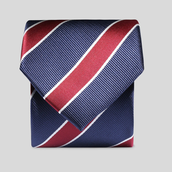 TM2819-02-Folkespeare-Prussian-Blue-With-Large-Wine-Stripe-Classic-Tie-1