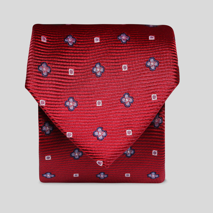 Wine With Blue Flowers Classic Tie