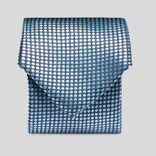 Load image into Gallery viewer, TM4149-03-Folkespeare-Turquoise-Polka-Dot-Slim-Tie-1