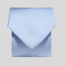 Load image into Gallery viewer, Folkespeare Light Blue Slub Classic Tie