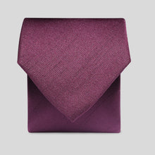 Load image into Gallery viewer, Folkespeare Maroon Slub Classic Tie