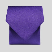 Load image into Gallery viewer, Folkespeare Purple Slub Classic Tie