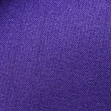 Load image into Gallery viewer, Folkespeare Purple Slub Classic Tie Fabric