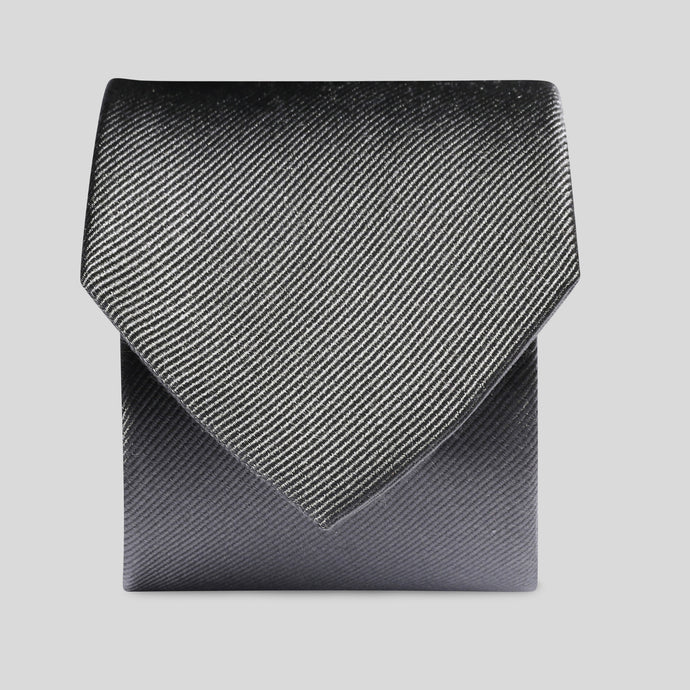 Charcoal Silk Classic Tie