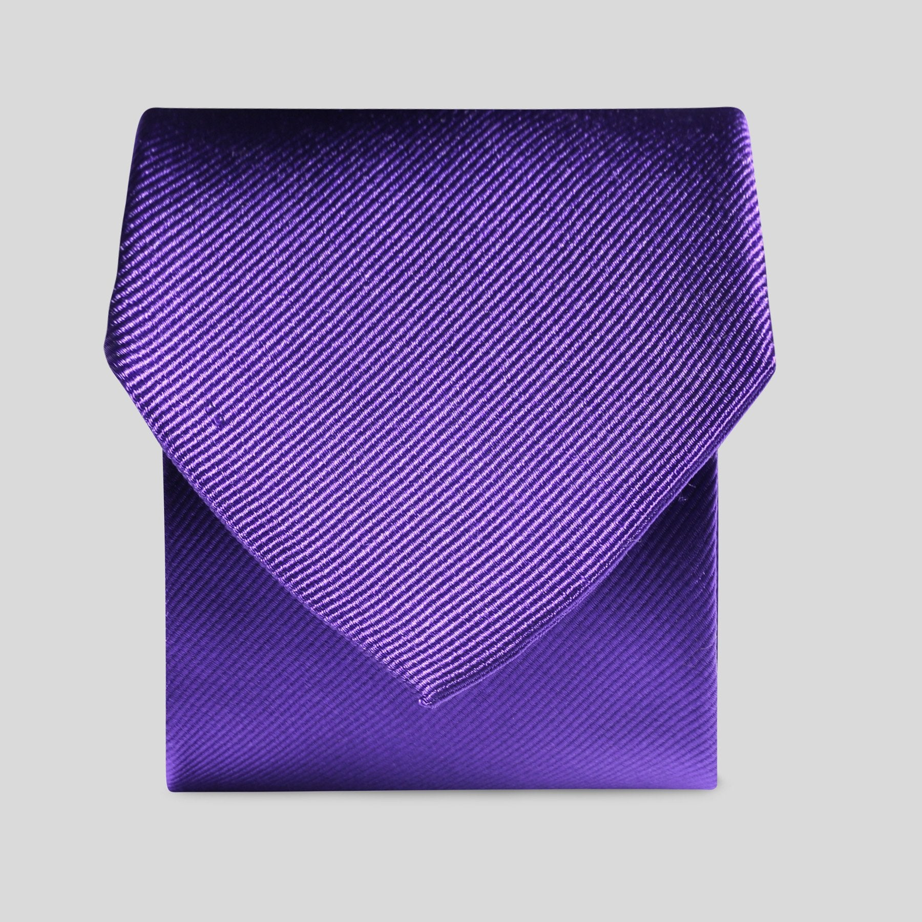 Folkespeare Purple Silk Classic Tie