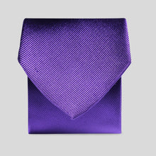 Load image into Gallery viewer, Folkespeare Purple Silk Classic Tie