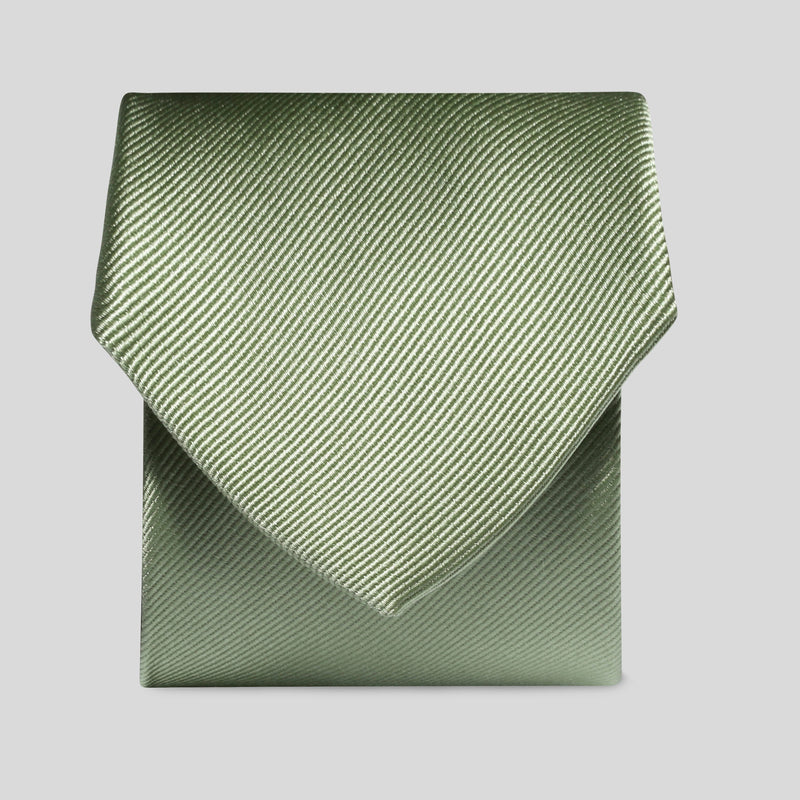 Lime Green Silk Classic Tie